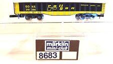 Z Scale Marklin Mini-Club 8683 Rail Gon Gondola LNIB