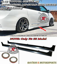 CityKruiser MP Style Side Skirts (ABS) Fits 11-17 Toyota Sienna [SE Model Only]