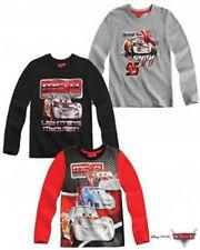 Magliette, maglie e camicie grigio Disney a manica lunga per bambini dai 2 ai 16 anni