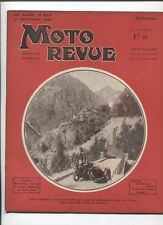 Moto Revue N°654  ; 21  septembre 1935 : le cyclecar à 3 roues projet futuriste