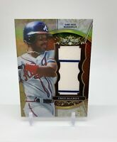 2013 Topps Triple Threads Unity Jumbo Relics Sepia Fred McGriff 18/27