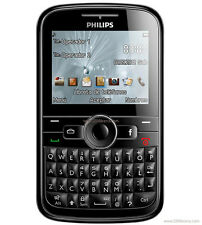 PHILIPS E133 DUAL SIM | 1.3MP Camera | FM | Black | QWERTY Multimedia Phone