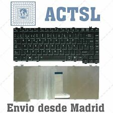 TECLADO ESPAÑOL NEGRO SPANISH SP TOSHIBA SATELITE A200-191