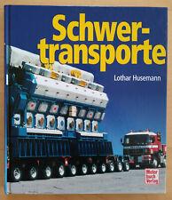 Schwertransporte - Lothar Husemann 1999 KFZ Verkehrsmittel Buch Bücher
