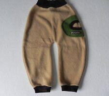Waldkind Fleecehose Mitwachshose Schlupfhose Fleece  handmade Gr.74-98 NEU