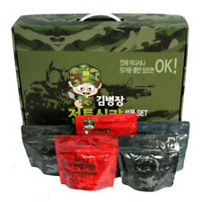 Korea Military Food Camping Rice Meal 10Pcs Set Combat Emergency Rations Outdoor