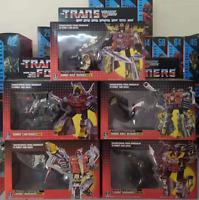 NEW TRANSFORMERS G1 Reissue Dinobots set Grimlock/Swoop/Slag/Snarl/Sludge MISB 1