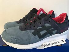 ASICS GEL LYTE III 3 BLUE MIRAGE INDIAN INK US 8 UK 7 41.5 NAVY SUED H6X4L RETRO