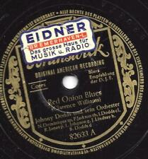 Johnny Dodds and His Orchestra: Red Onion Blues + Gravier Street Blues