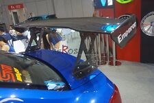 CARBON VARIS GT WING  BLADE END CAPS WITH FRP BRACKET FOR IMPREZA 10 GVB GVF STI