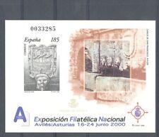 2000 PRUEBA OFICIAL EDIFIL 72 EXFILNA 2000 CAÑOS DE AVILES ASTURIAS      TC11063