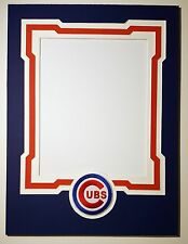 Chicago Cubs 12x16 mat for 8x10 photo Kris Bryant Anthony Rizzo Javier Baez