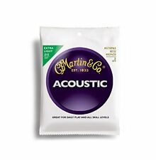 Martin M170 (10-47) 3 sets Acoustic Guitar Strings. 3 Juegos guitarra Acústica.
