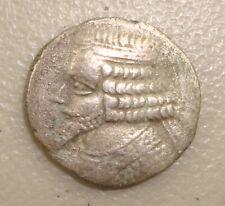 38-2 BC Parthian Königreich Phraates IV Antike Griechische Silber Tetradrachme F