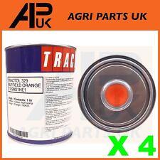 4 Litro Ltr Nuffield 10/42 3/42 3/45 3DL 4/65 Tractor Naranja Pintura tractol