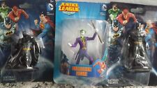 BATMAN + JOKER Action Figurines Cake Toppers DC Comics Super Hero ~ Lot of 3