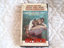KNEE DANCING VHS 80'S CHILD ABUSE AUTOBIOGRAPHY DRAMA SLEAZE MENTAL ILLNESS