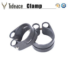 3K Glossy Carbon Fiber Bike Seatpost Clamps 31.8mm/34.9mm MTB Bicycle Clamps OEM