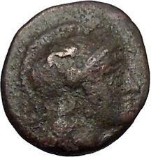 Pergamon Regal Coinage 282BC Athena Magic  & Bow Ancient Greek Coin i49674