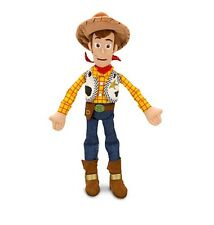 "Disney Store Authentic Toy Story Sheriff Woody BIG Plush 18"" Tall Kids Doll Gift"