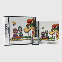 Mario & Luigi Bowser's Inside Story (Nintendo DS, 2009) RPG Tested Complete CIB!