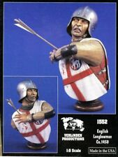 Verlinden Productions 1:5 English Longbowman CA.1450 Bust Resin Figure #1552