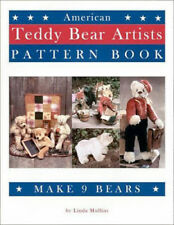 AMERICAN TEDDY BEAR ARTISTS PATTERN BOOK by Linda Mullins * How-to making sewing