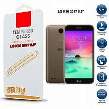 pour LG K10 2017 Verre Trempé Téléphone portable Protecteur d'écran