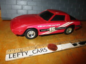 Buddy L Come Back Red MAZDA RX-7 Magic Action 1981(41032) DIORAMAS! PART'S!