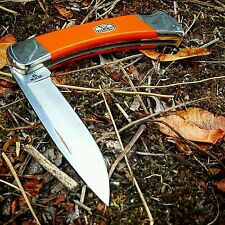 "The ""Fox"" Buck Knives 110 Folding Hunter CPM-154 Steel, Orange G10"