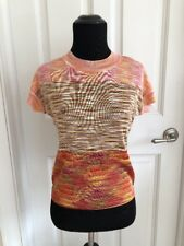 Missoni Woman's Knit Short Sleeve Top Size 40(US 4)