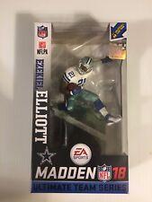 Ezekiel Elliott Dallas Cowboys McFarlane Madden NFL 18 Ultimate Series 2 Figure