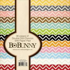 Chevron Collection Scrapbooking 6x6 Paper Pad 36 Pages BoBunny NEW