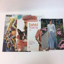 Lot Four 4 Knitting Magazines Women Patterns Sweaters Tahki Berroco Schachenmayr