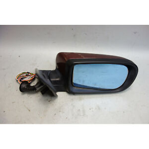1995-2001 BMW E38 7-Series Right Passenger  Outside Side Mirror Royal Red Memory