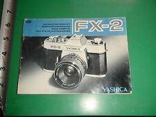 JD662 Vintage Camera Guide Yashica FX-2 Hong Kong