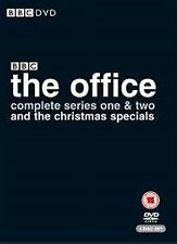 The Office Complete Series One & Two and The Christmas Specials NEW UK R2 DVD