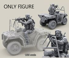 Resin 1/35 US Special Forces ATV Rider Shooting ONLY FIGURE BL308