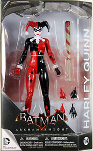 DC Collectibles ~ HARLEY QUINN (VER. 2) FIGURE ~ Batman Arkham Knight / Asylum