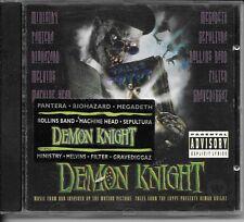 CD ALBUM OST 10 TITRES--DEMON KNIGHT--PANTERA/BIOHAZARD/MEGADETH/SEPULTURA