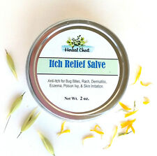 Itch Relief Cream, Dermatitis Eczema Rash, Dry Irritation, Insect Bug Bite Anti
