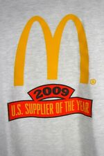 McDonald's T Shirt XL Supplier of the Year 2009 Promotional Employee Hanes Beefy