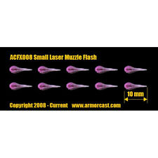Armorcast ACFX008 Small Laser Muzzle Flash (10) Cinematic Effects Bits