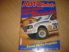 Auto hebdo N°275 Austin Metro Trophée.1000 Pistes