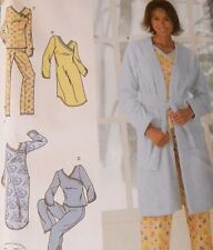 4796 Simplicity Pajama's Pj's Nightshirt Nightie Nightgown Size L 18 20 XL 22-24