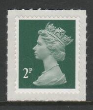 GB 2011 Machin Definitive SA 2p deep green SG U3056 MNH (2B)