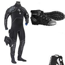 LO3 2 Scubapro Everdry 4 Dry Suit Man size  XXL extra extra + SCUBAPRO ROCK BOOT