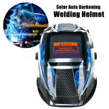 Pro Solar Power Auto Darkening Welding Helmet Arc Tig Mig Welder Mask Grinding