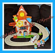 Nick Jr Tickety Toc Clockhouse Pufferty Tommy Talulah Train Playset VHTF 🌟EUC🌟