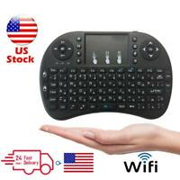Mini i8 Wireless Keyboard Touchpad for Android TV Box 2.4G WIFI Media Player US